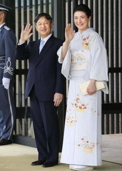 Crown Prince Akishino, Crown Princess Kiko, Princess Mako, Kako, Akiko, Yoko and Tsuguko