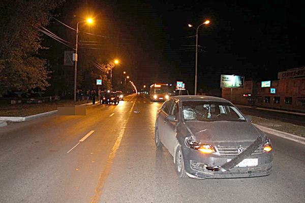 В Башкирии на пешеходном переходе сбили мужчину