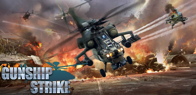 GUNSHIP BATTLE: HELICOPTER mod apk