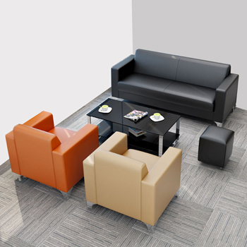 Add beauty and comfy to your office by using office sofa set