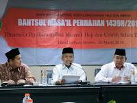 Ditjen Haji Gelar Bahtsul Masail Doa Manasik Haji dan Umrah