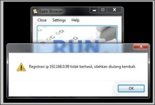 Exambrowser Tidak Merespon Ke Server UNBK Local