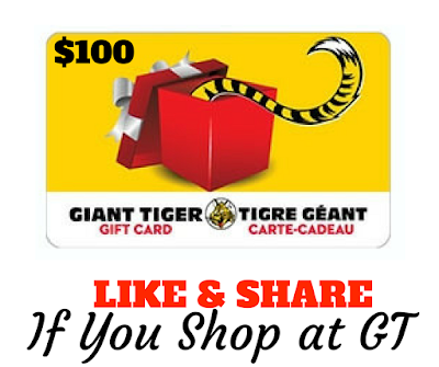 Giant Tiger Gift Card Giveaway