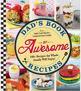 Dad's Book Of Awesome Recipes cover