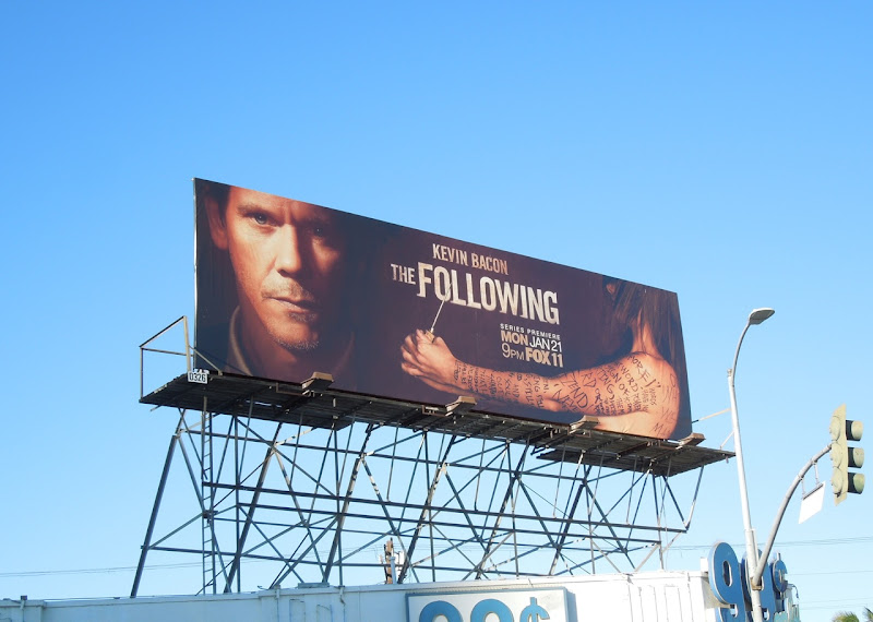 Following season 1 Fox TV billboard