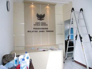 Sekat Ruang Lobi Kantor  Furniture Interior Ruang Lobi Kantor Pemerintahan