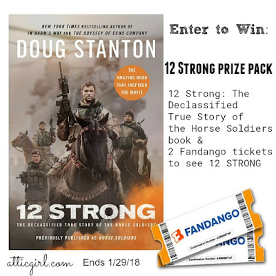 12 Strong Movie, sweeps, books made into movies