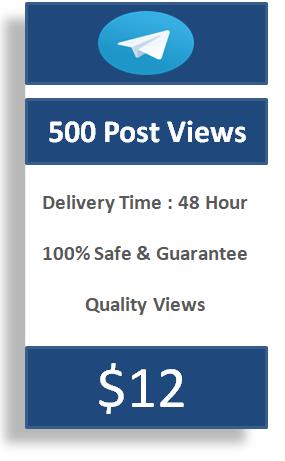 buy 500 telegram post views