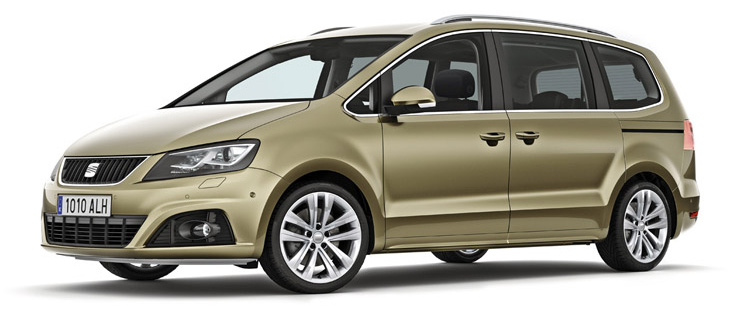 2017 seat alhambra redesign release date and price. Black Bedroom Furniture Sets. Home Design Ideas