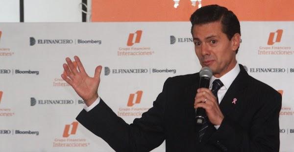"""Peña Nieto advierte a AMLO que no permitirá que """"lucre con la tragedia"""""""