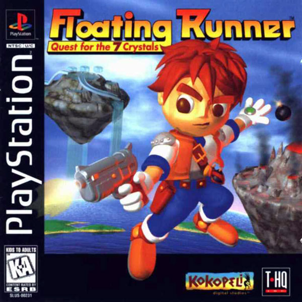 Floating Runner - Quest for the 7 Crystals  - PS1 - ISOs Download