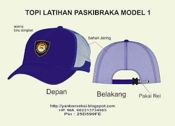 TOPI PASKIBRAKA MODEL 1
