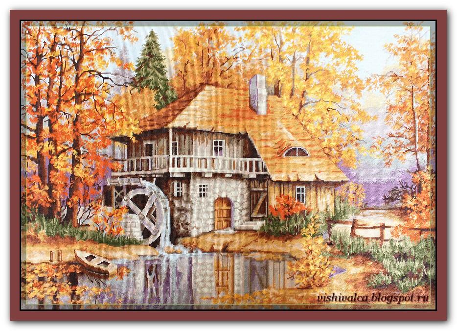 B481 Осенний пейзаж