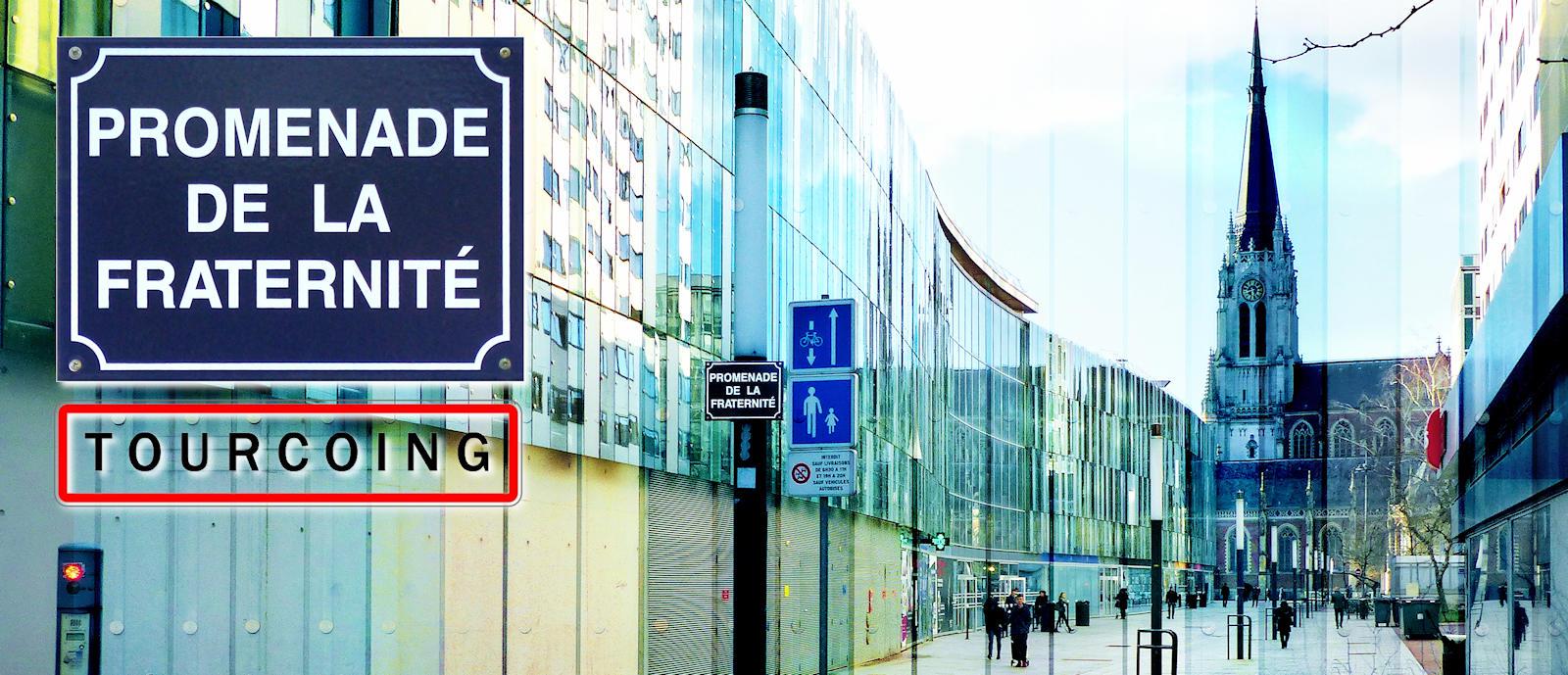 Tourcoing, Centre - Promenade de la Fraternité