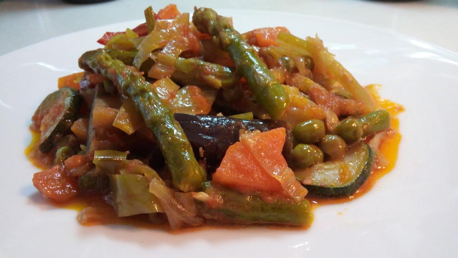 Mi cocinera favorita menestra de verduras - Como preparar menestra de verduras ...