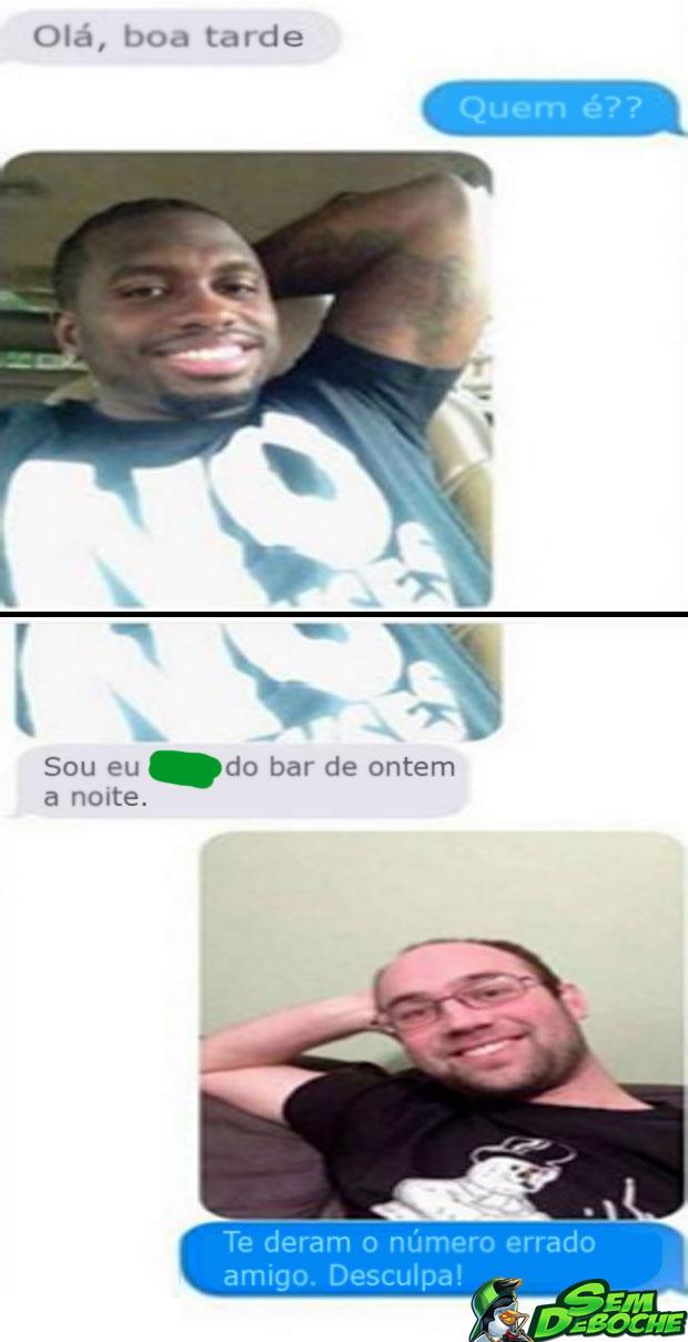NÚMERO ERRADO