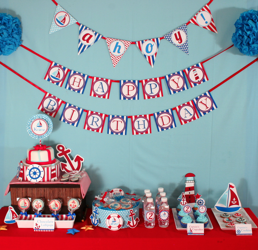 Vens Paperie Nautical Party