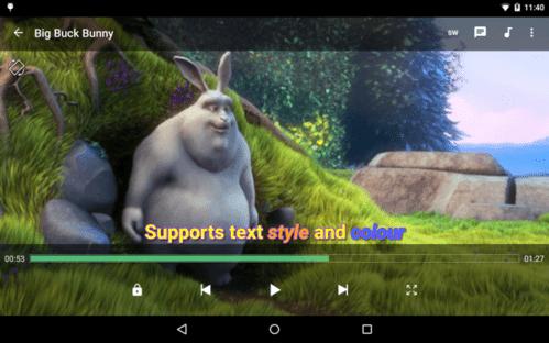 Reprodutor de vídeos para Android