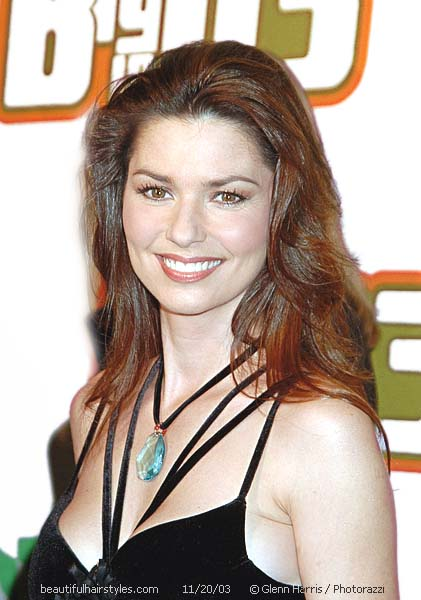 Shania Twain Hairstyles Celebrity Hair Cuts