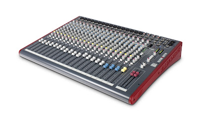 Allen & Heath music console