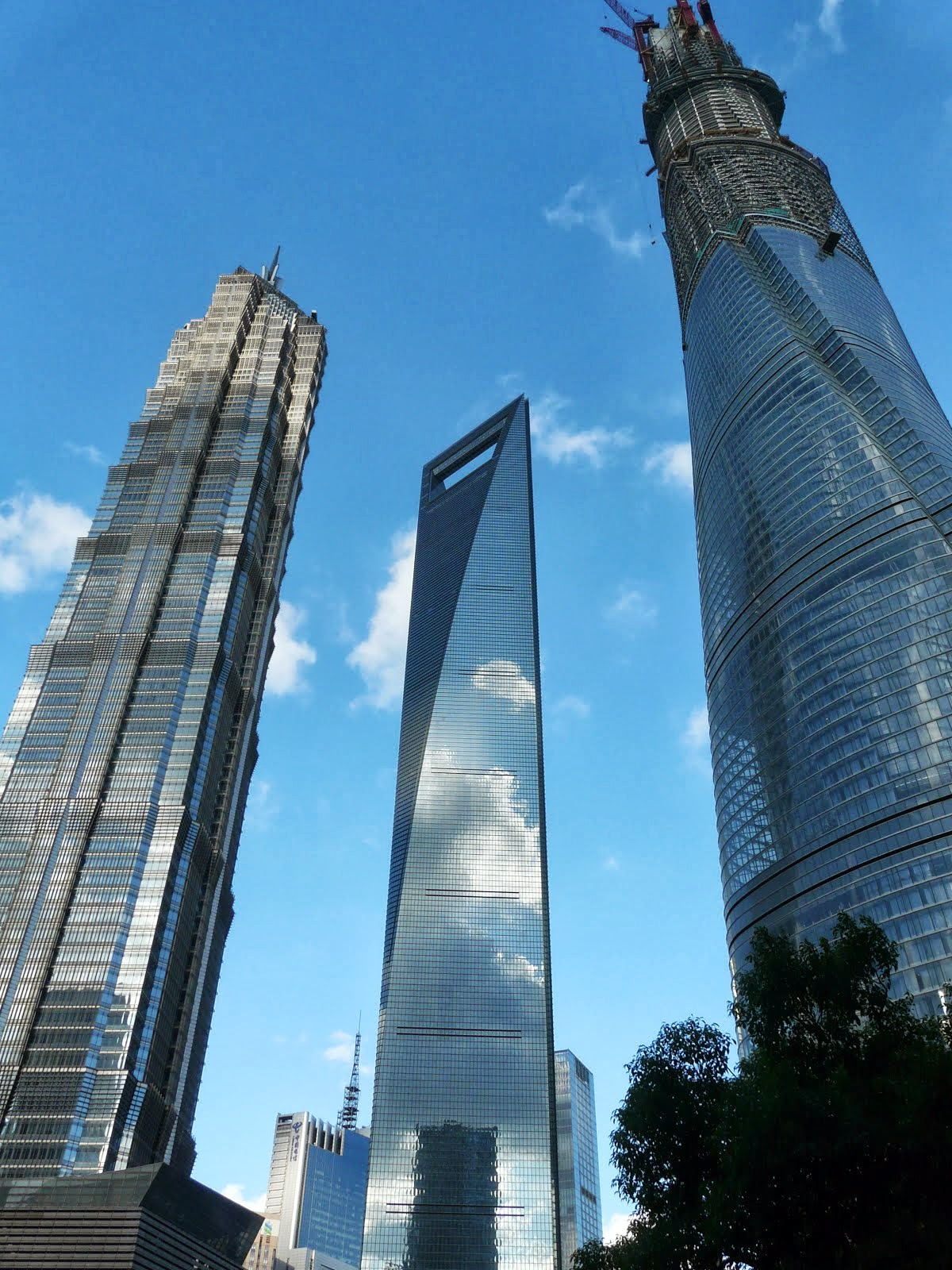 語國一方 Hugo's Corner: 浦東新高樓──上海中心大廈