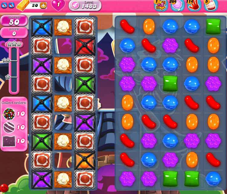 Candy Crush Saga 1483