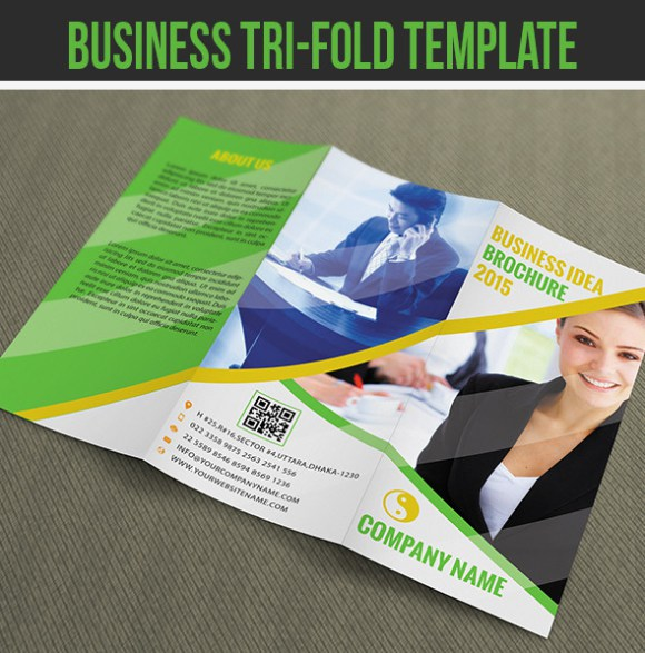 Free Premium Brochure Templates Photoshop PSD InDesign AI - Business brochure templates free download
