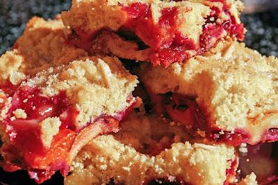 Crumble de fresas
