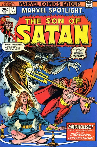 Marvel Spotlight #18, The Son of Satan