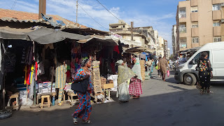 Busy markets of Dakar have everything you need and dont need