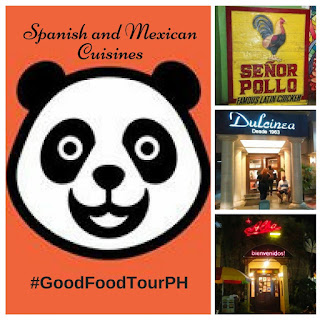 Good Food Tour Philippines Features Mexican and Spanish Cuisines