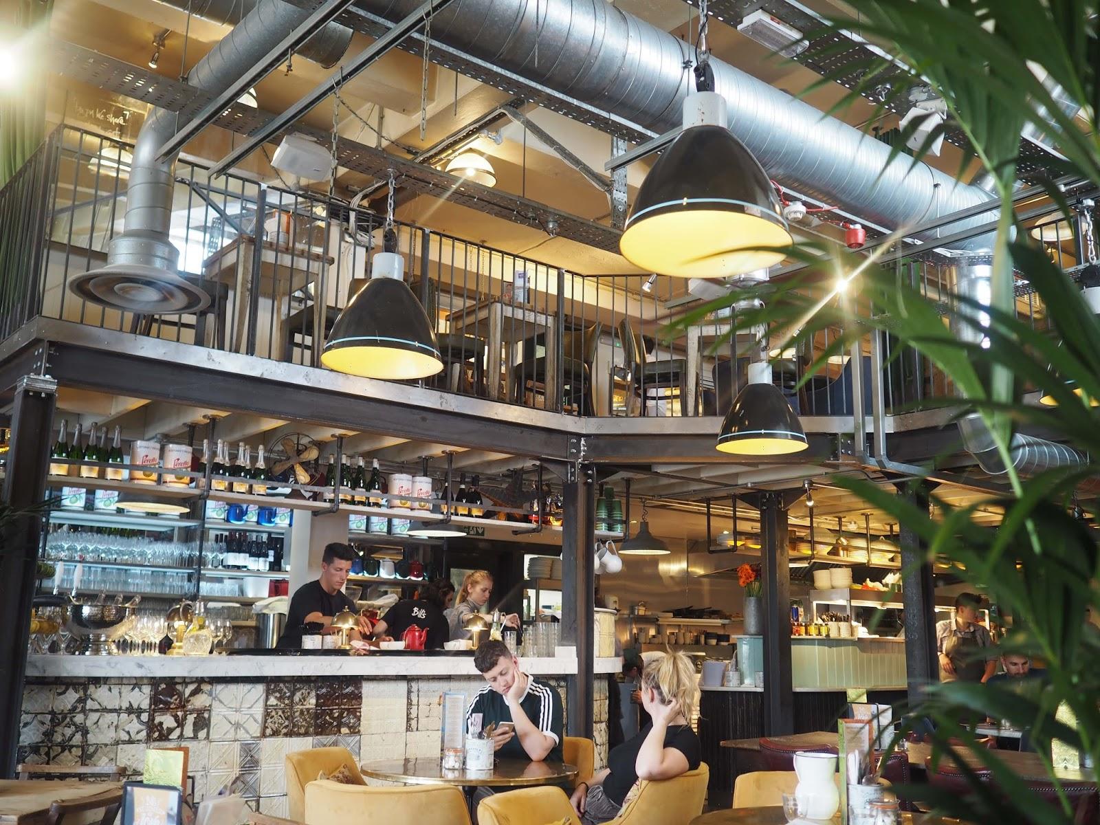 Interior, Bills restaurant, Brighton