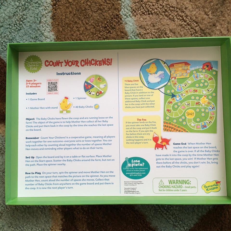 count your chickens game instructions
