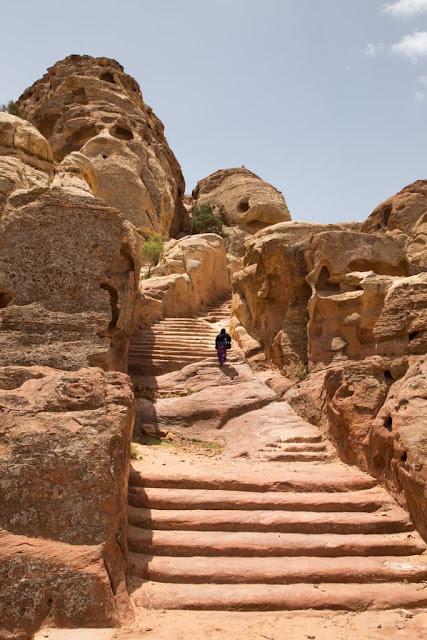 Ruta al mejor mirador del Tesoro de Petra, Jordania