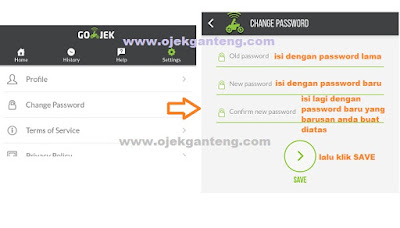 cara ganti password gojek, cara ubah password gojek, cara mengganti password gojek, cara mengubah password gojek, cara ganti password akun gojek, cara ubah password akun gojek