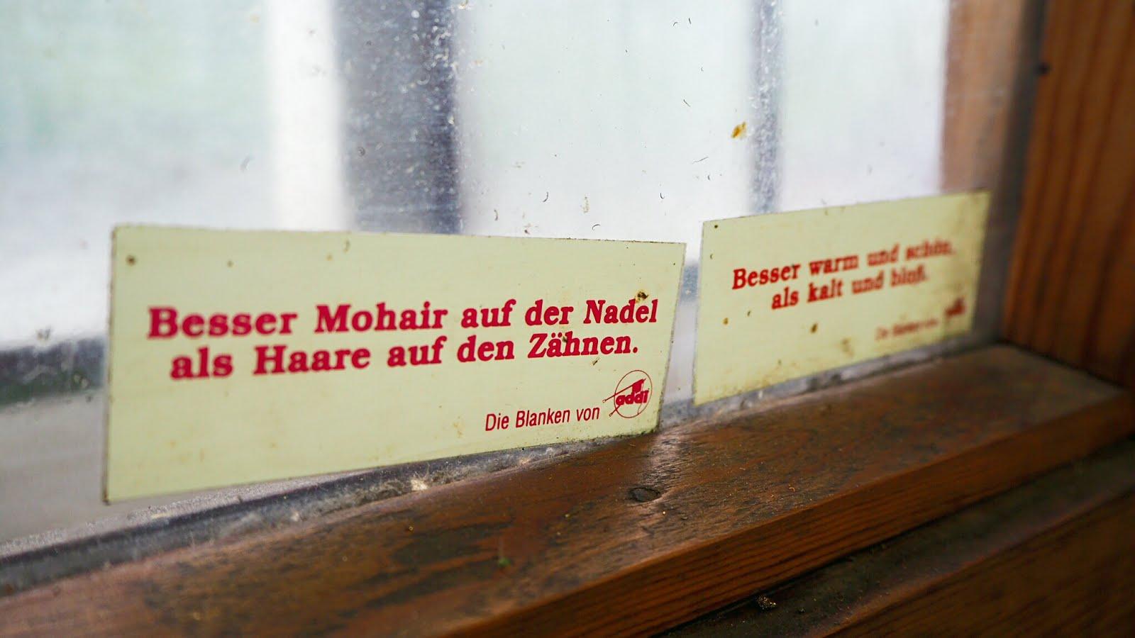 """""""Besser Mohair auf der Nadel als Haare auf den Zähnen."""" - Stricknadeln von addi by Selter"""