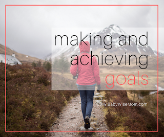 Making and Achieving Goals