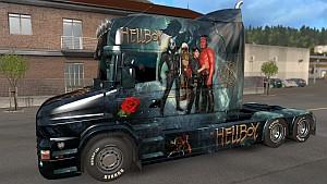 Hellboy Scania T skin