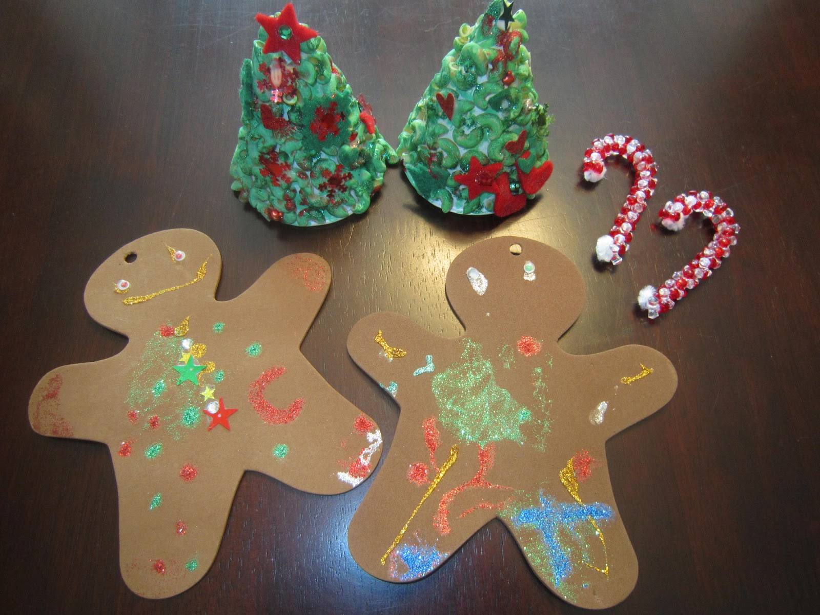 Kids' Christmas crafts, Christmas tree ornaments, Christmas decor