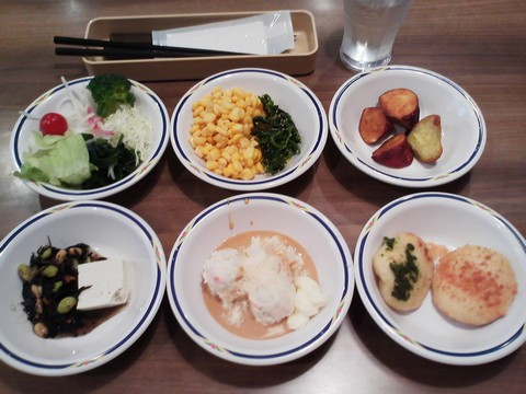 健康サラダバーランチ¥647-3 ステーキガスト一宮尾西店12回目