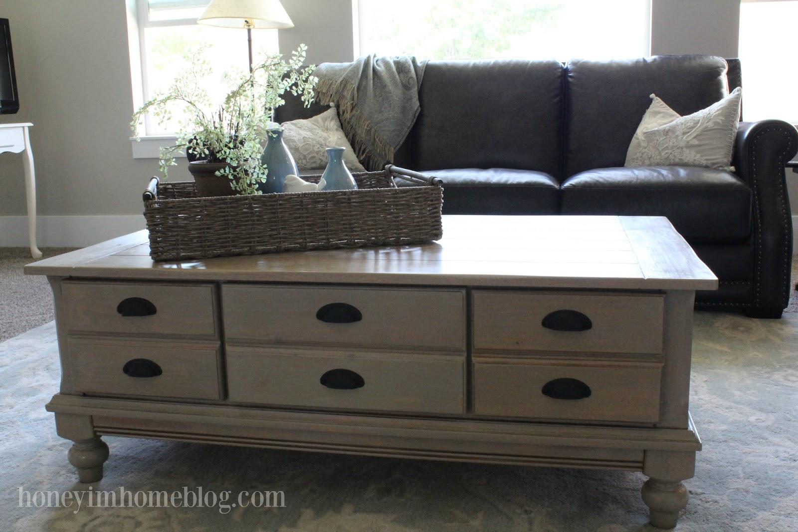 Honey I'm Home: Refinishing A Coffee Table