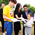 170619 Suho on Tree Planting Ceremony gift for Single-Parent Multicultural Family (2017 SM Workshop in Jeju)