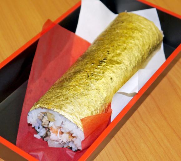 sushi mahal salut emas