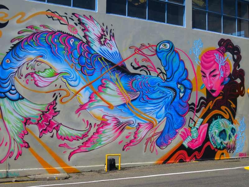 Sea Walls: Murals for Oceans