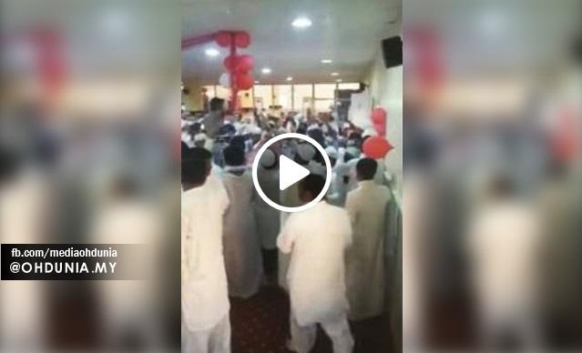 Rakaman Jemaah Menari Dalam Masjid Di Jeddah Tersebar