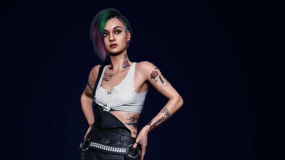 Cyberpunk 2077, Judy Alvarez, 8K, #3.2241
