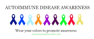 Autoimmune colors for awaeness