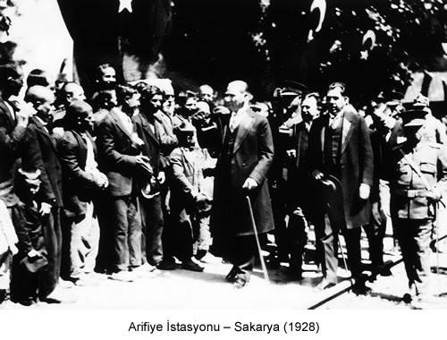 Atatürk Sakarya Arifiye 1928 Fotoğraf