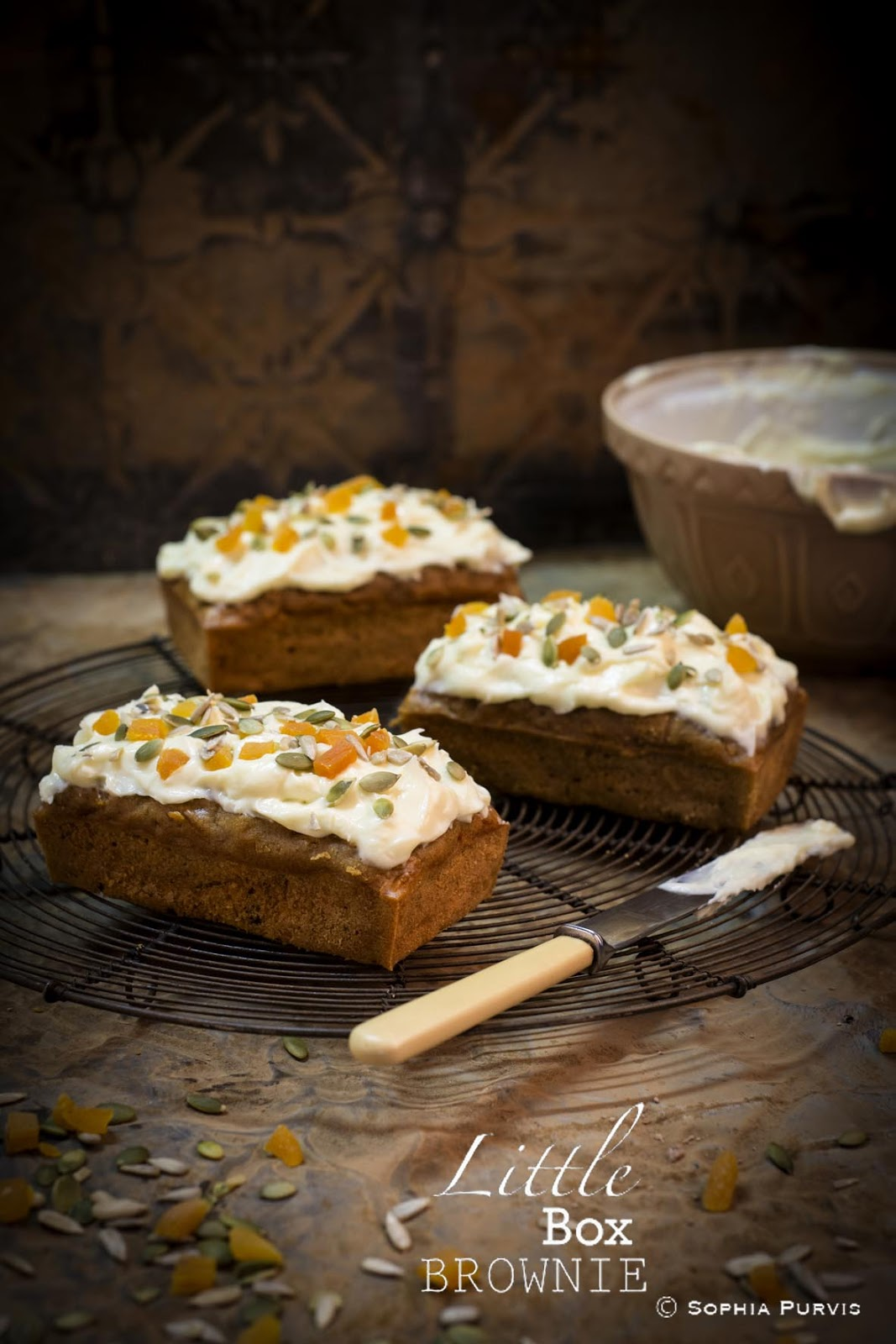 Cafe Sunflower Carrot Cake Recipe