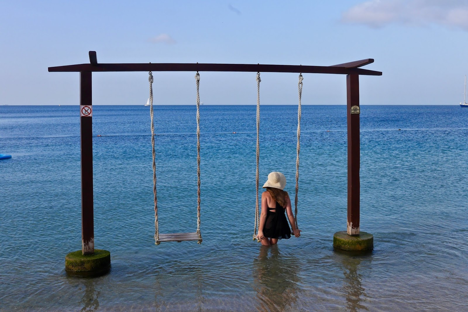 Beach Swings at Sandals Grande St Lucia, Sandals Grande St Lucia Review